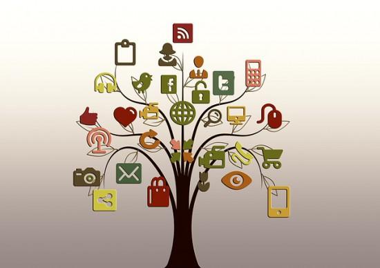 Árbol de redes sociales