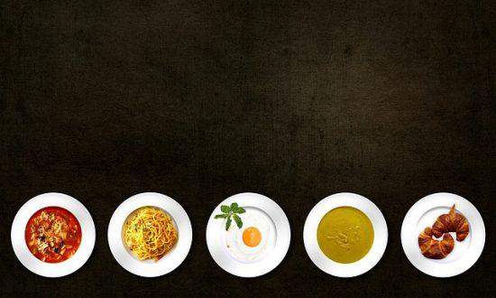 Diferentes platos